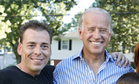 Marshall Clemons with Vice President Joe Biden.