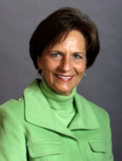 Representative Doris Kelley, D-Waterloo
