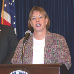 State epidemiologist Patricia Quinlisk (file photo)