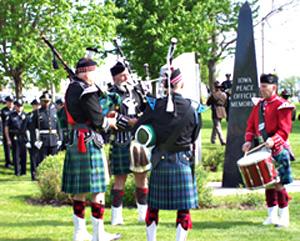 Peace officer memorial.