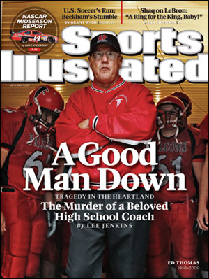 Sports Illustrated featuring Ed Thomas.
