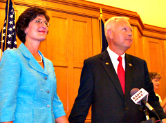 State Representative Rod Roberts and his wife Trish.