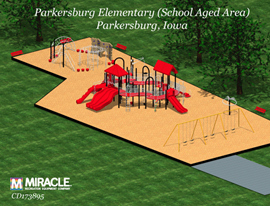 Plan for Parkersburg playground.