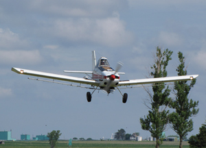 Crop dusting plane. (Photo courtesy DOT)