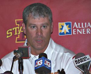 ISU coach Paul Rhoads