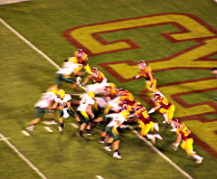 Iowa State faced North Dakota State in their season opener.