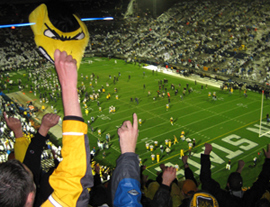 Hawkeye fans at Penn State.