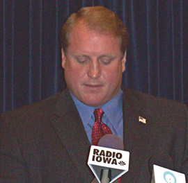 Governor Chet Culver (file photo)