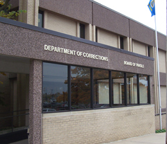 Department of Corrections building.