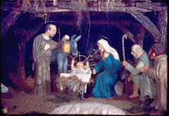 Algona Nativity scene