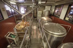 Inside the Olde Main Brewery