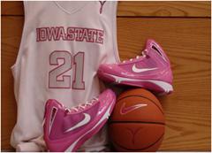 Pink ISU uniforms.