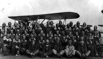 Tuskegee Airmen class that included Iowan James Bowman.
