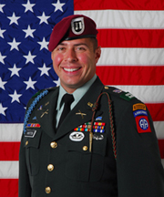 Daniel Whitten died on duty in Afghanistan.