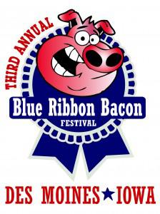 Bacon fest logo.