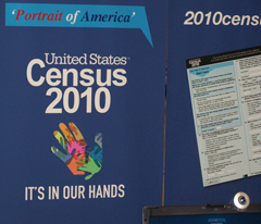 Census display.