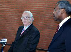 IASB president Russ Wiesley, attorney Nolden Gentry.