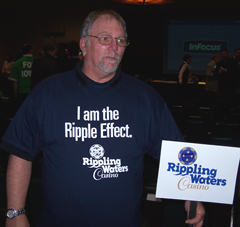 Ottumwa casino supporter Richard Bamm.
