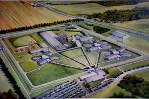 Artist rendition of new prison.