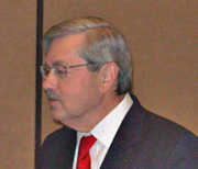 Terry Branstad at IBNA debate Saturday.