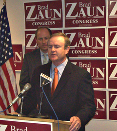 Jim Gibbons endorses his former opponent Brad Zaun.