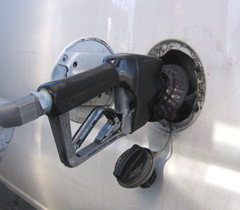 The average price of regular unleaded gas in Iowa stands at $3.48/gallon