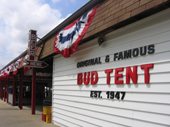 Bud Tent & Bud tent has a long history at Iowa State Fair