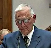 Jack DeCoster during  2010  testimony before a House committee.