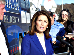 Michele Bachman during campaign in Iowa. (file photo)