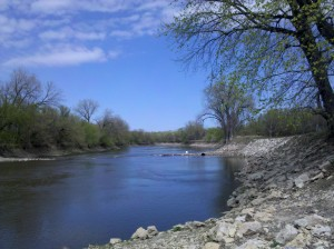 The Des Moines River