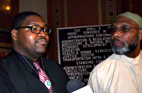 2012 photo of Michael Dekota McRae (L), Ako Abdul-Samad.