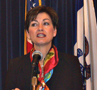 Lt. Governor Kim Reynolds (file photo)