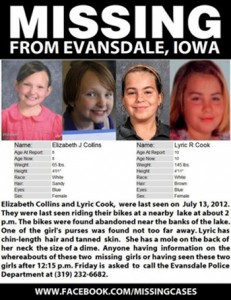 Elizabeth Collins and Lyric Cook-Morrissey went missing and were later found dead.