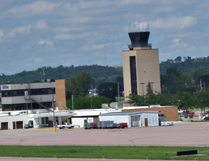 Tower at the Sioux City airport.