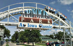 Entrance to Anrolds Park.