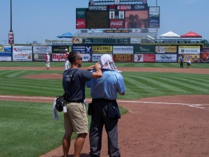Temperatures in July hit 100+ degrees during the State High School Baseball Tournament in Des Moines