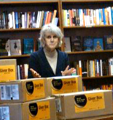 Alice Meyer during the 2012 World Book Night