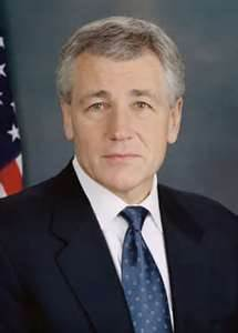 Former Senator Chuck Hagel, (R-Nebraska)