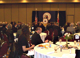 Republicans met today in a fundraiser breakfast before the start of the legislative session.