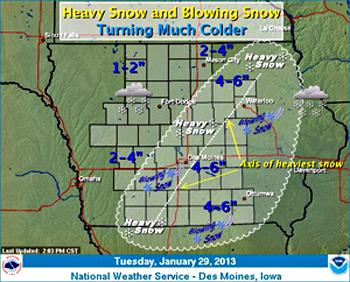 Wicked Winter Weather On The Way For Wednesday Radio Iowa