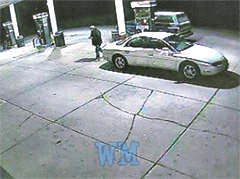 Surveillance photo used to show improper purchase of gas in Coggon Light Plant audit.