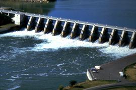 Gavins Point Dam on the Missouri River.