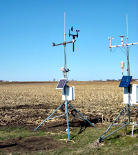 I.S.U. weather station.