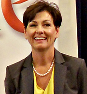Lt. Governor Kim Reynolds.