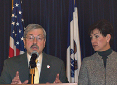 Governor Branstad and Lt. Governor Reynolds.