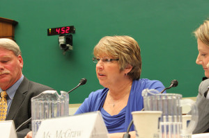 Jan Thomas testifies before House Energy and Commerce Subcommitte on Oversight and Investigations