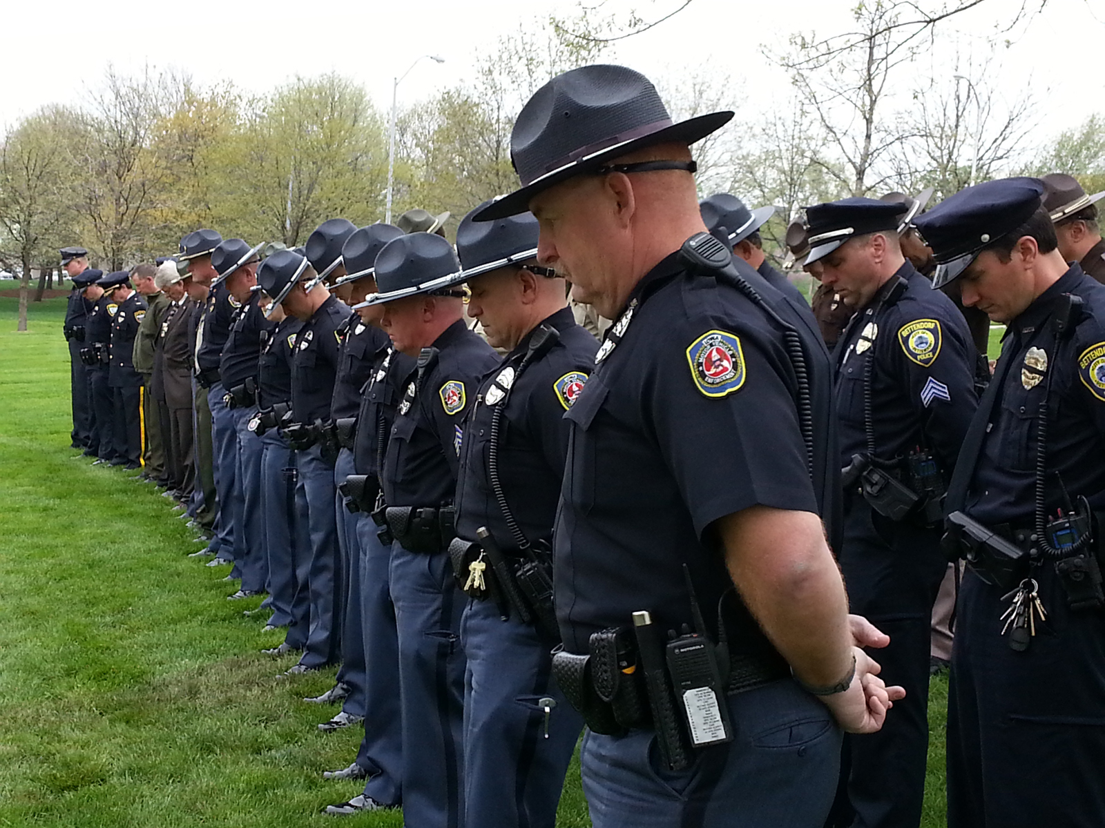 Fallen iowa law officers remembered for Iowa motor vehicle laws