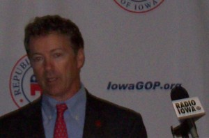 US Senator Rand Paul