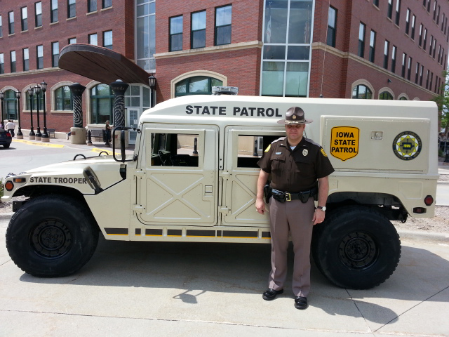 Humvees Now Part Of State Public Safety Fleet