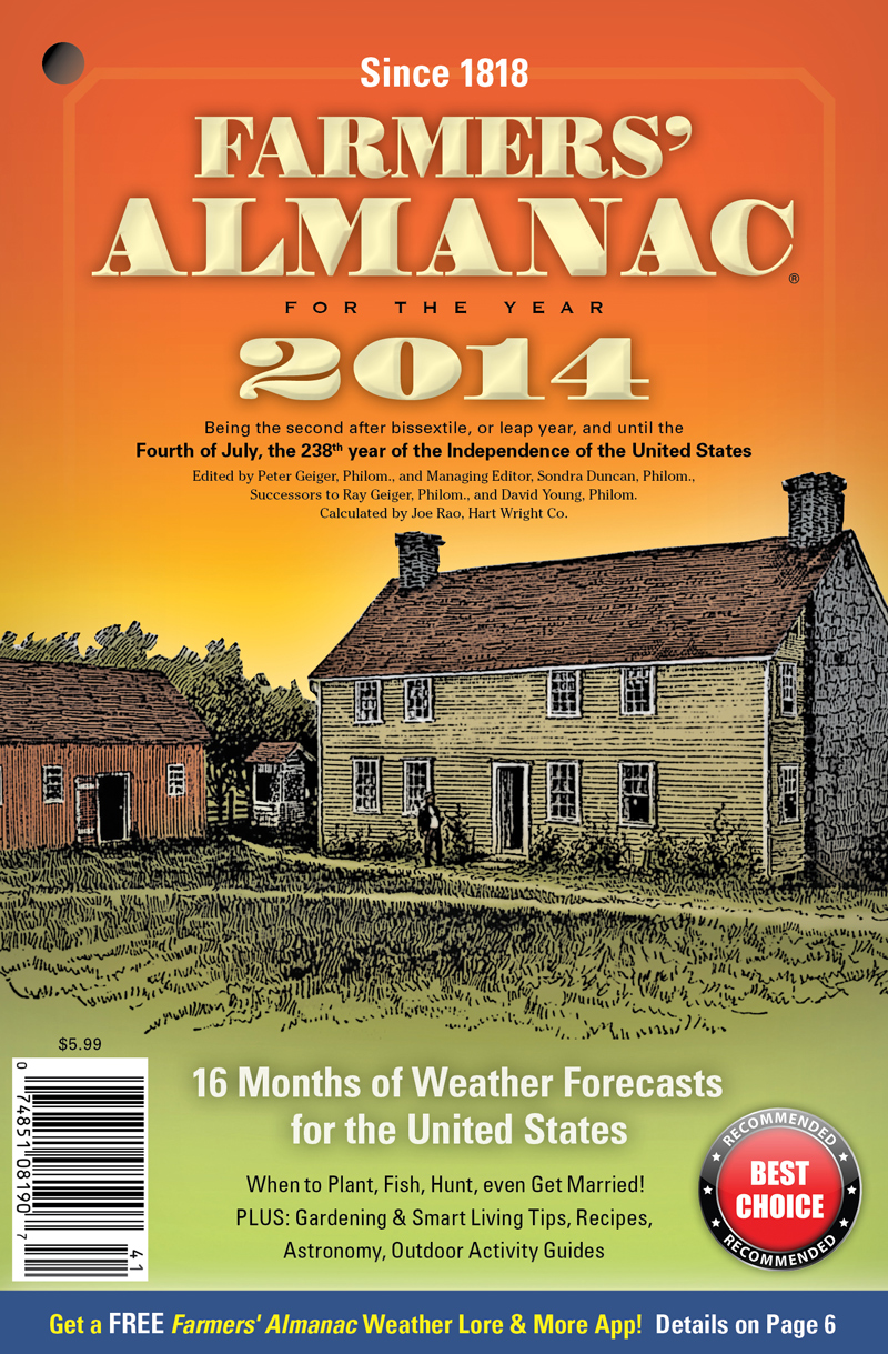 Farmers' Almanac Winter 2014 2015